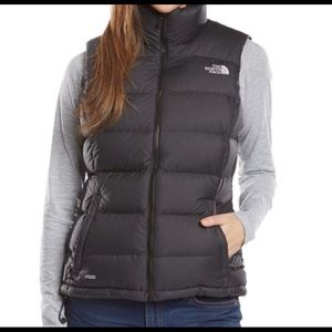 North Face Puffer Vest 700 Goose Down Black Small